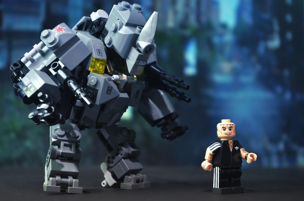 Lego the amazing spider man 2 rhino w aleksei sytsevich flickr - Lego the amazing spider man 3 ...