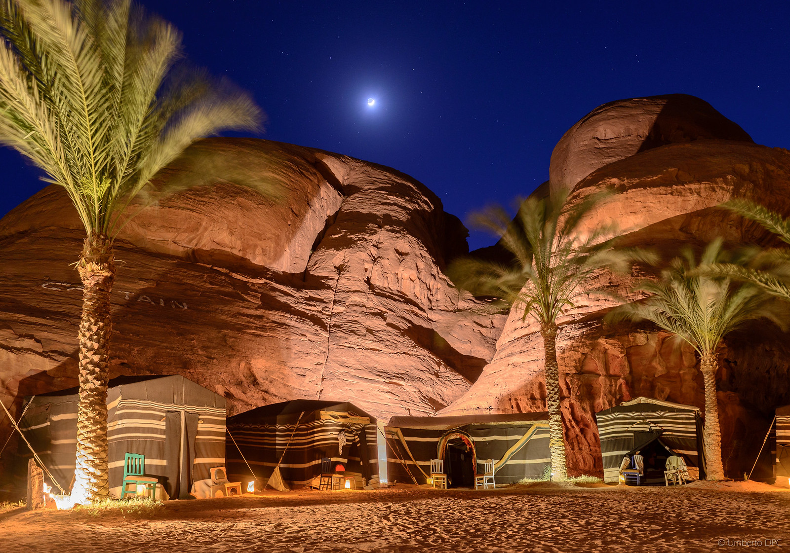 Captain's Camp in Wadi Rum (Jordan)