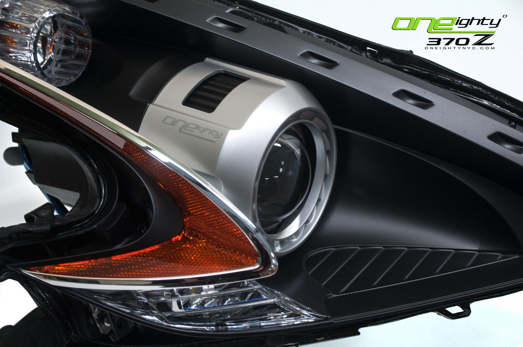 Nissan 370z Custom Headlights By Oneighty Nissan 370z