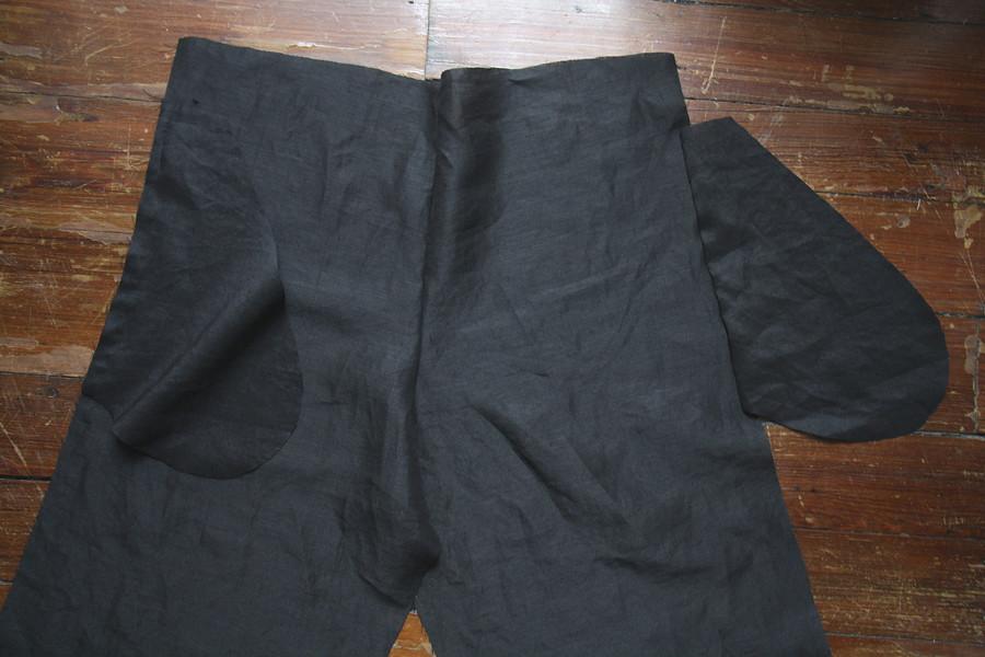 simple modern sewing: crop pants | linen crop pants sewn fro… | Flickr