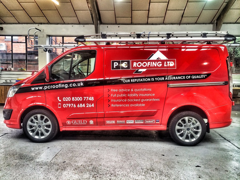 Van Signwriting Bromley Van Wrapping Bromley Creative Fx W