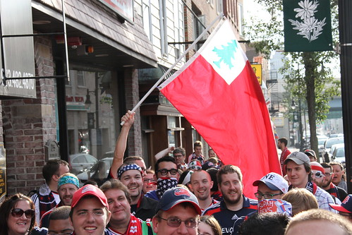 The Supporters begin the March | by nerevolution