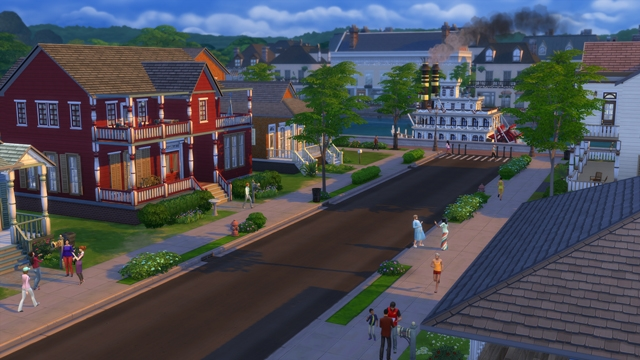 de sims 4 willow creek
