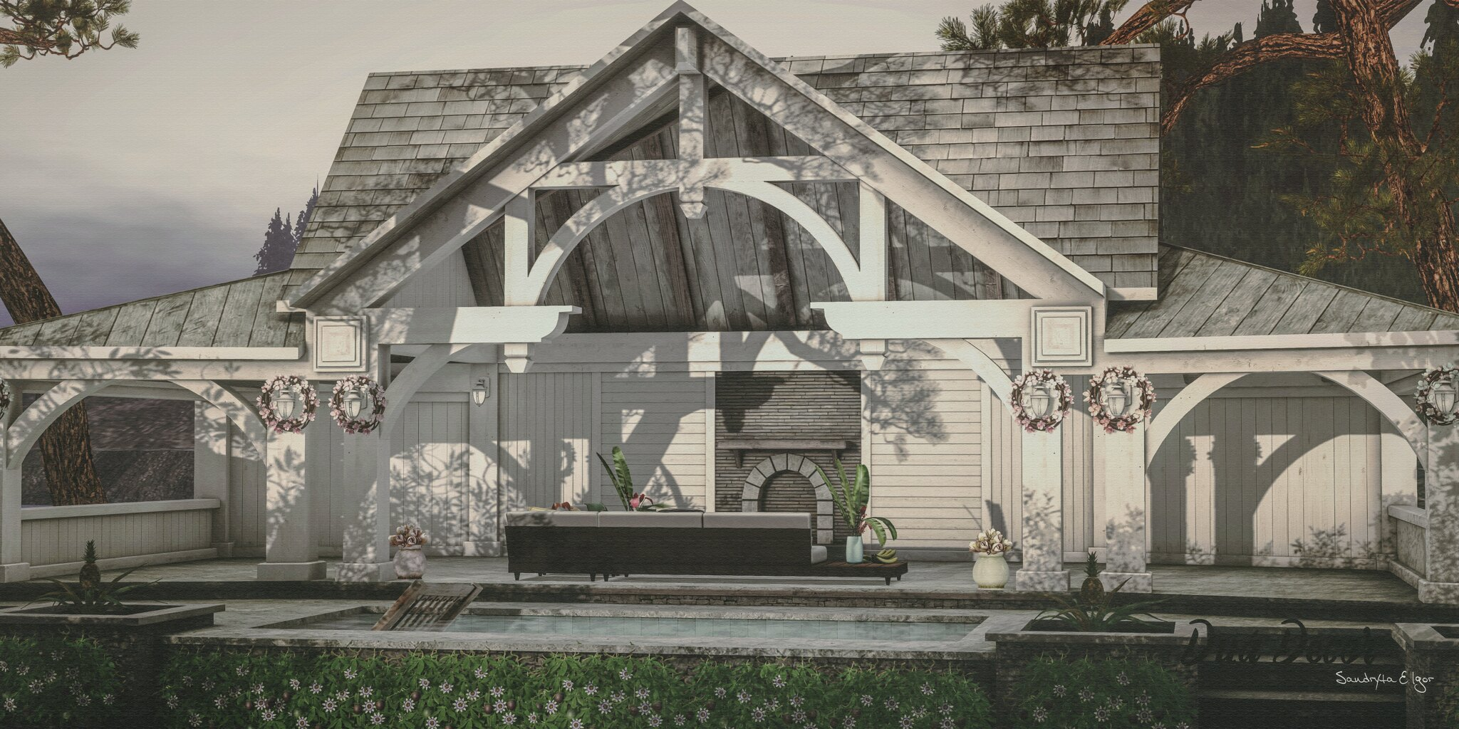 POST🔥 #605   Trompe Loeil   SAYO   Ariskea   Serenity Style   Fameshed   The Liaison Collaborative