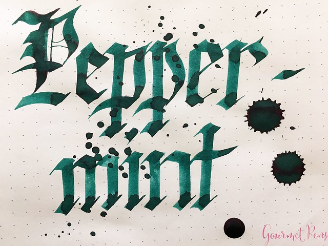 Ink Shot Review: @RobertOsterInk Peppermint @NoteMakerTweets 8