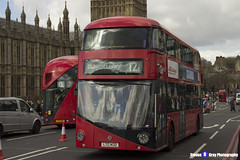 Wrightbus NRM NBFL - LTZ 1432 - LT432 - Dulwich Library 12 - Go Ahead London - London 2017 - Steven Gray - IMG_8544