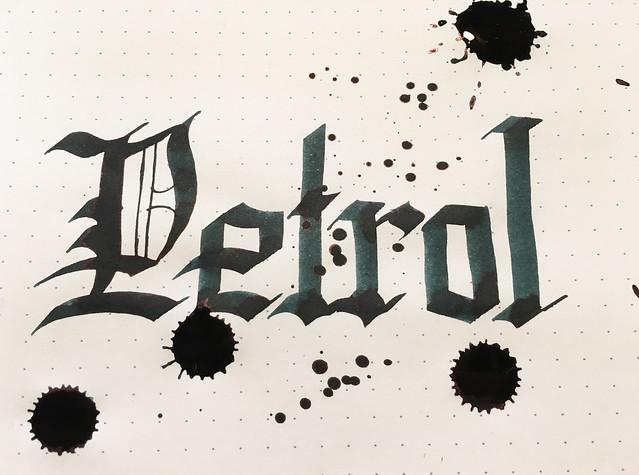 Ink Shot Review Lamy Petrol @Fontoplum0 @Lamy 9