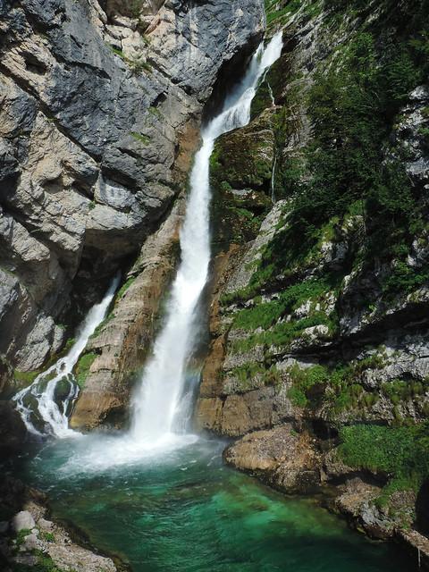 Savica waterfall, Triglav, Slovenia