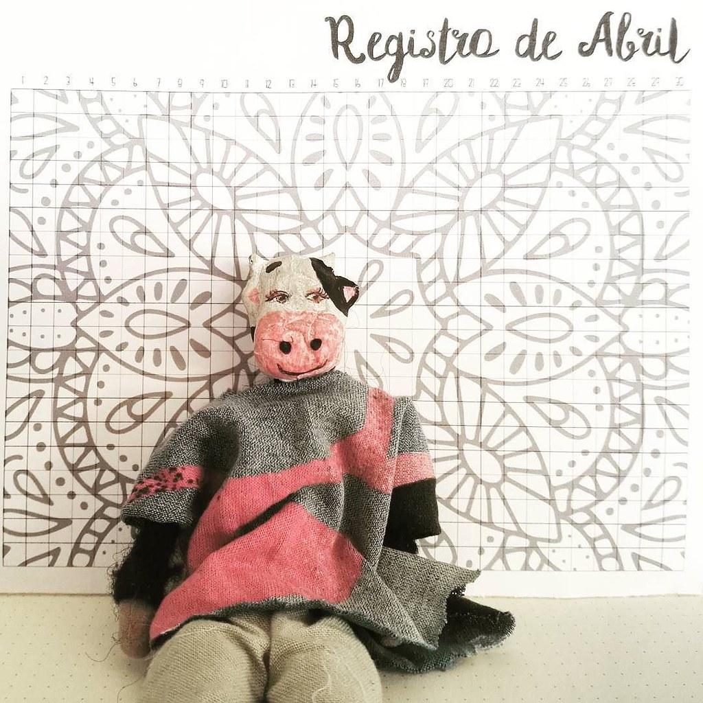 Aurelia os muestra nuestro registro de hábitos para Abril,… | Flickr