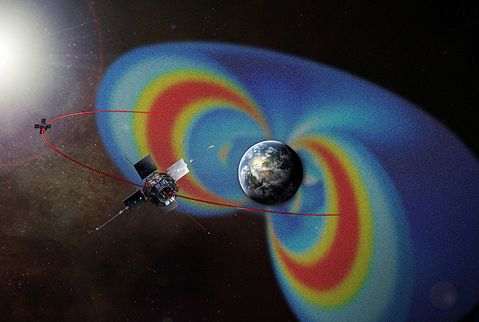 Less radiation in inner Van Allen belt than previously believed