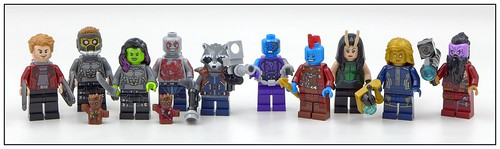 LEGO SuperHeroes Guardians of the Galaxy Vol 2 (2017) figures16