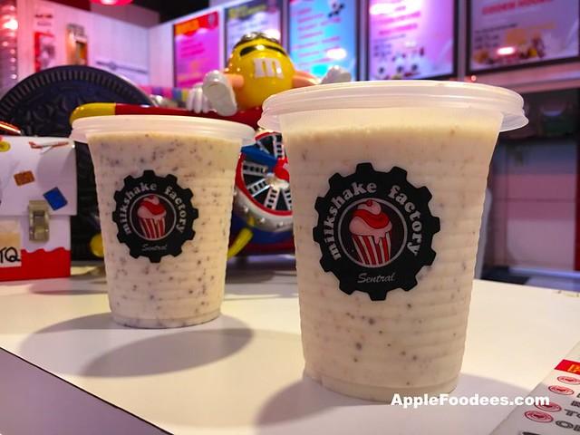 Milkshake Factory NU Sentral - Coco Milkshake