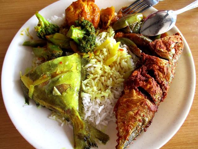 Noor Satay nasi campur, my picks