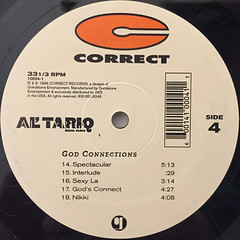 AL' TARIQ:GOD CONNECTIONS(LABEL SIDE-D)