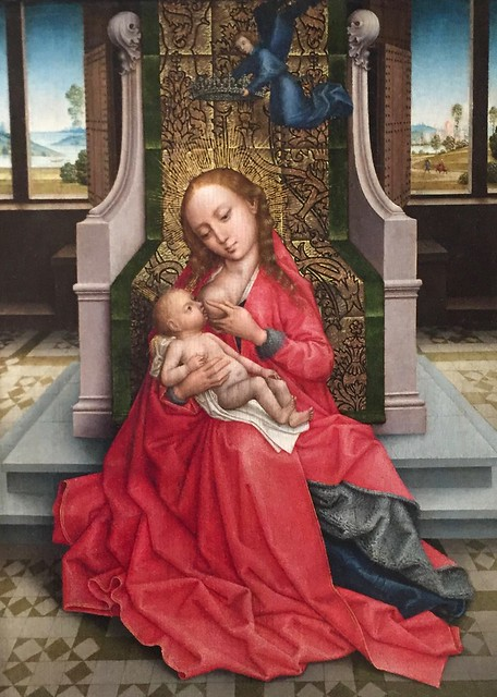 *Virgin and Child* by Master of the Legend of Saint Catherine, c. 1490-95
