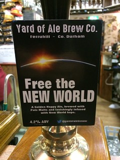 Yard of Ale Brew Co, Free the New World, England