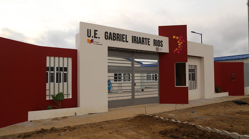 Inauguración de la U.E Siglo XXI Gabriel Iriarte Ríos