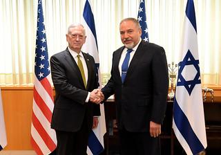 Secretary of Defense Jim Mattis visit to Israel, April 20-21, 2017