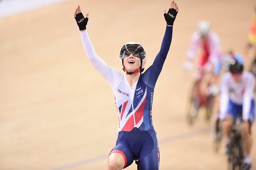 Great Britain Cycling Team at the 2017 UCI Track Cycling World Championships - day five