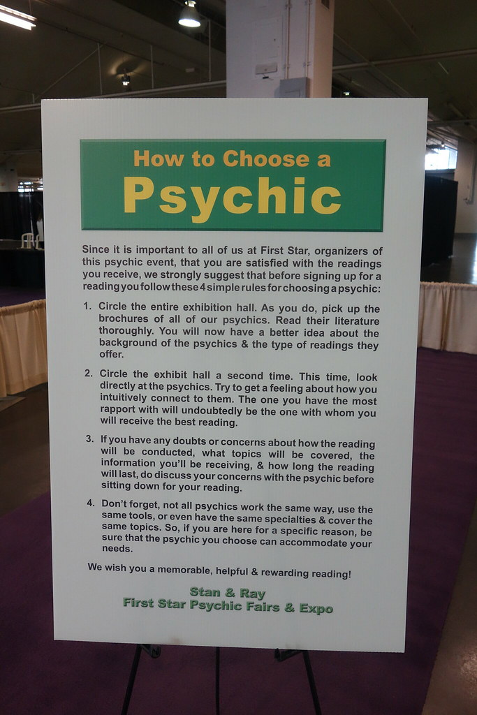 How to find a psychic at the mystics and seers show in Toronto
