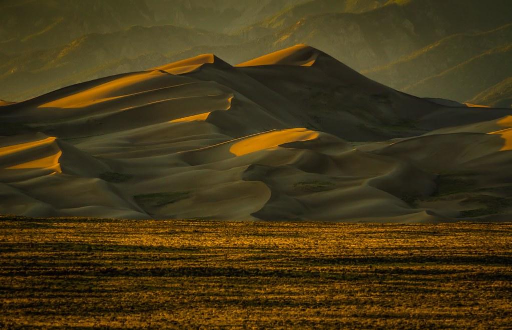 Sunset on Great Sand Dunes