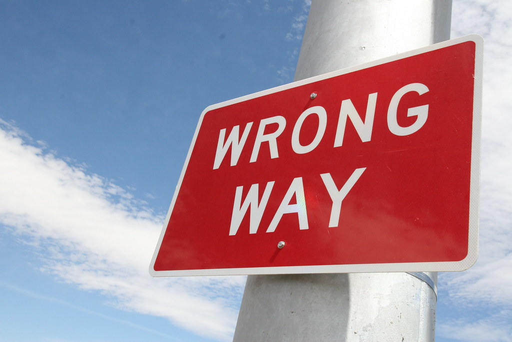 wrong way signs signs along i 10 in tucson arizona department of