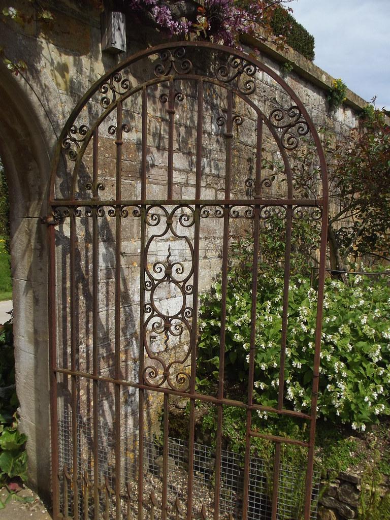 The Secret Garden - Sudeley Castle & Gardens - gate | Flickr