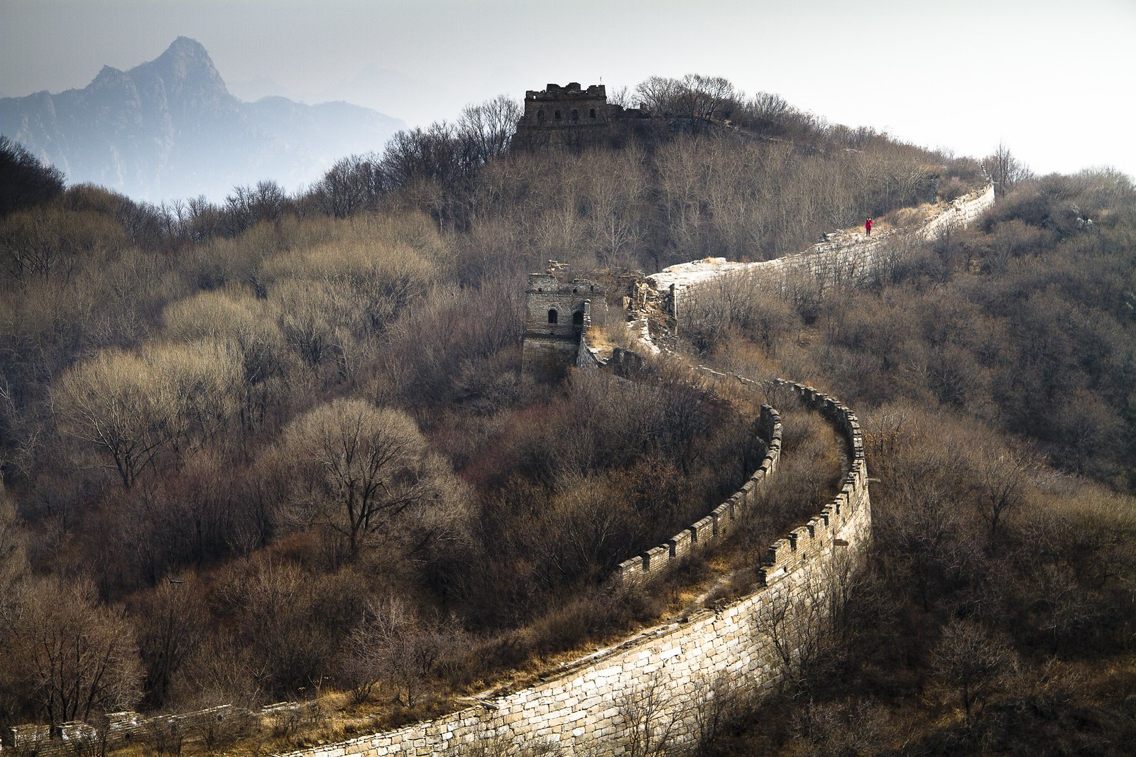 Great wall at Mutianyu | by niragag