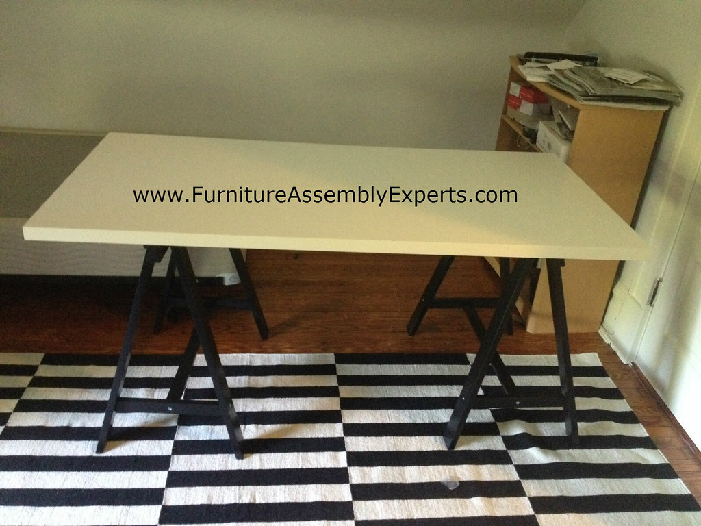 ... Ikea Linnmon Oddvald Table Assembly Service In DC MD VA | By Furniture  Assembly Experts Company