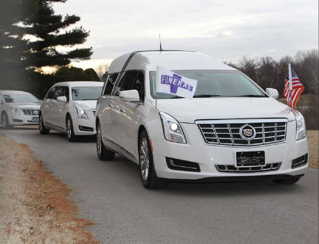 Cadillac XTS hearse and limousines | The Crown Regal funeral… | Flickr