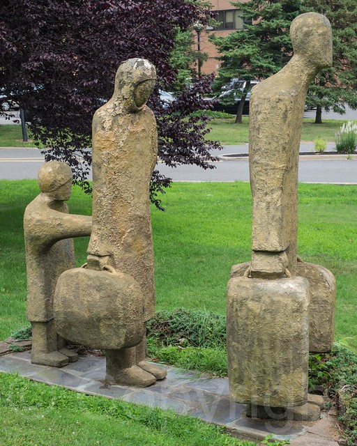 Resettlement Sculpture By Judith Peck Clifton Sculpture