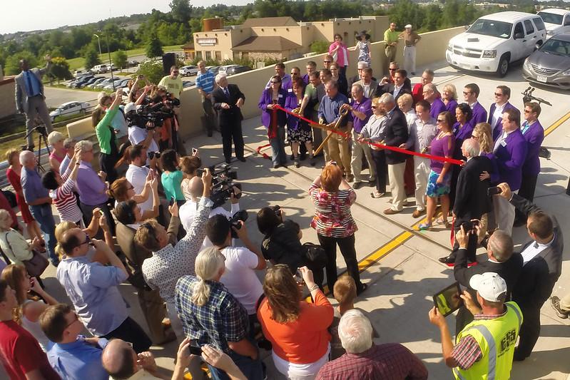 Flyover Bridge Opens In North Fayetteville Fayetteville