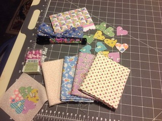 Thanks to Peg in Colorado for all my goodies in Missouri Mel 1930's fabric swap.  Love the little hearts and your doll quilt is adorable! | by Boopsi52