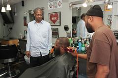 Barbershop Talk About a Baseball Stadium