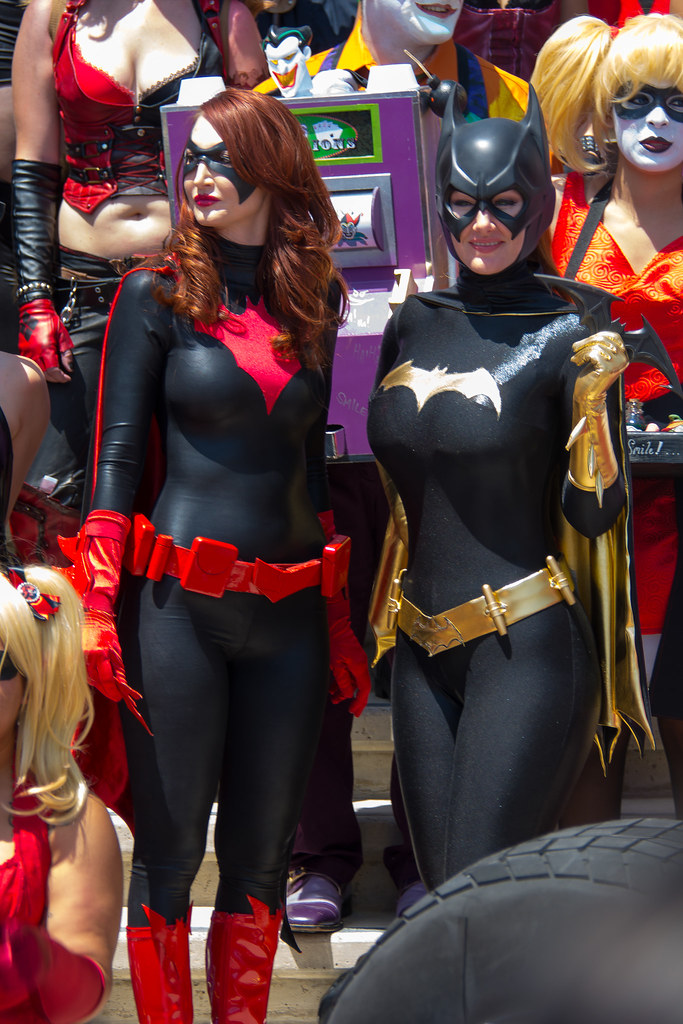 Sdcc Comic Con 2014 Cosplay, Batgirl  Sdcc Comic Con 2014 -7399