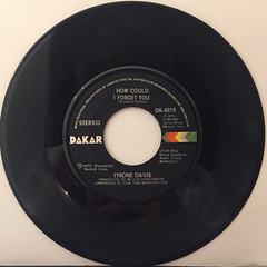 TYRON DAVIS:WITHOUT YOU IN MY LIFE(RECORD SIDE-B)