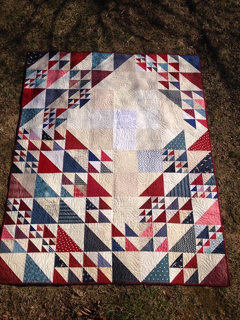 Quilt of Valor - October 2016 quilt