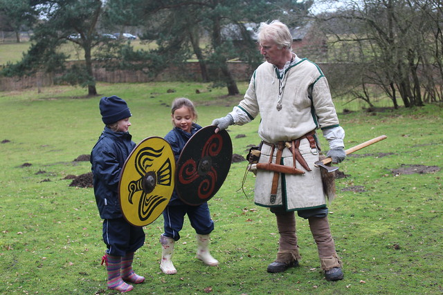 J1 Viking Day at Tatton Park