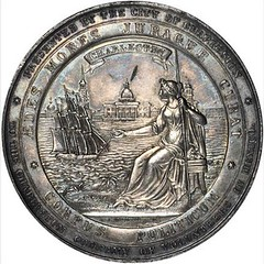 Charleston Company of Volunteers Medal obverse