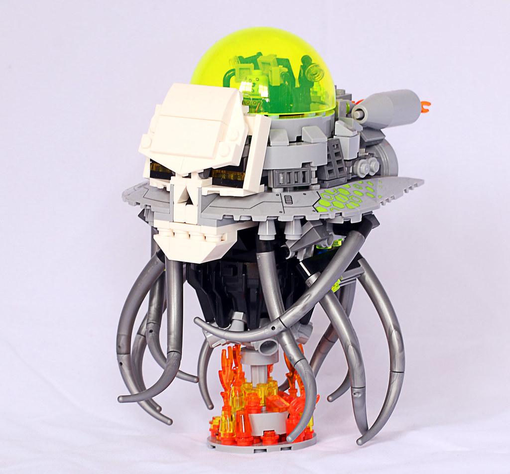 Brainiac Ship Upgrade - Frost Bricks