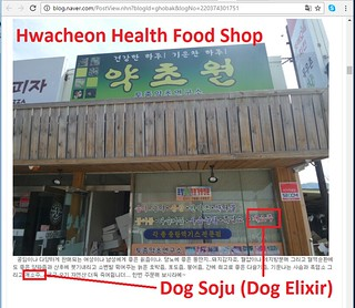 Health Food Shop in Hwacheon 041917
