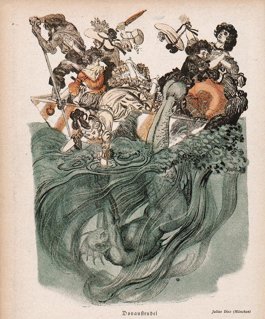 Julius Diez - Donauſtrudel, 1902