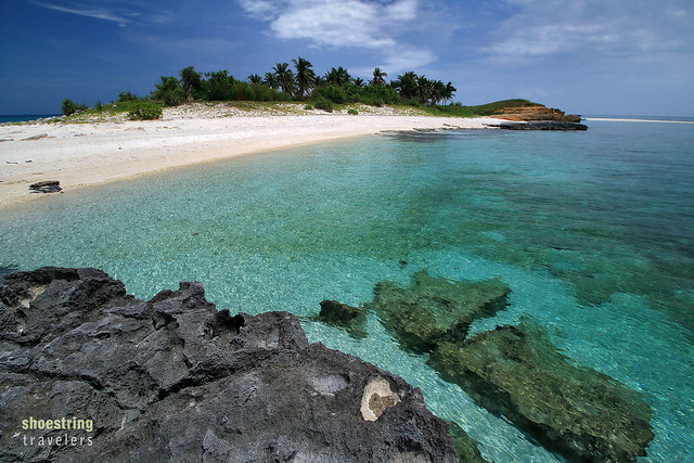the southwestern end of Tinalisayan Island
