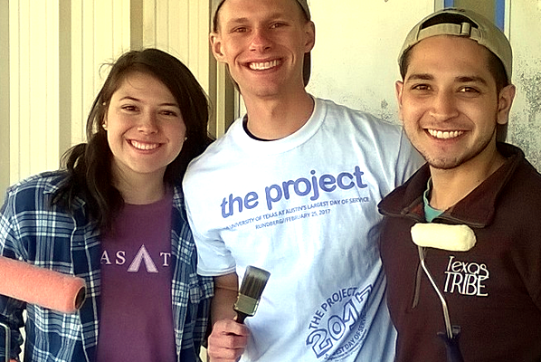 The Project volunteers