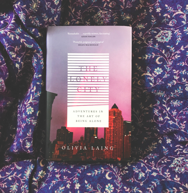 the lonely city olivia laing book review book bloggers uk current favourites