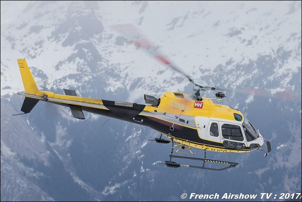 Aérospatiale AS-350 B3 Ecureuil - F-HJCG , Saf-helico , S.A.F Service Aérien Français , Fly Courchevel 2017 , Hélico 2017