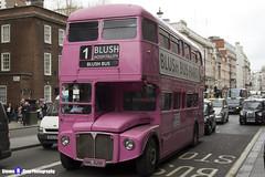 AEC Routemaster - NML 628E - RML 2628 - Blush Hospitality Blushbus - London 2017 - Steven Gray - IMG_9074