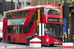 Wrightbus NRM NBFL - LTZ 1063 - LT63 - Liverpool Street 11 - Go Ahead London - London 2017 - Steven Gray - IMG_8238