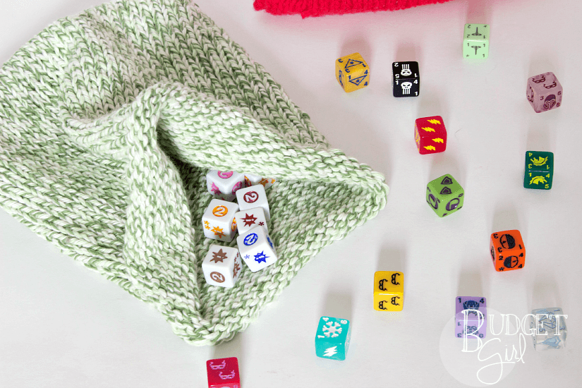 graphic regarding Dice Bag Printable Pattern called Cube Bag Knitting Routine - Tastefully Eclectic