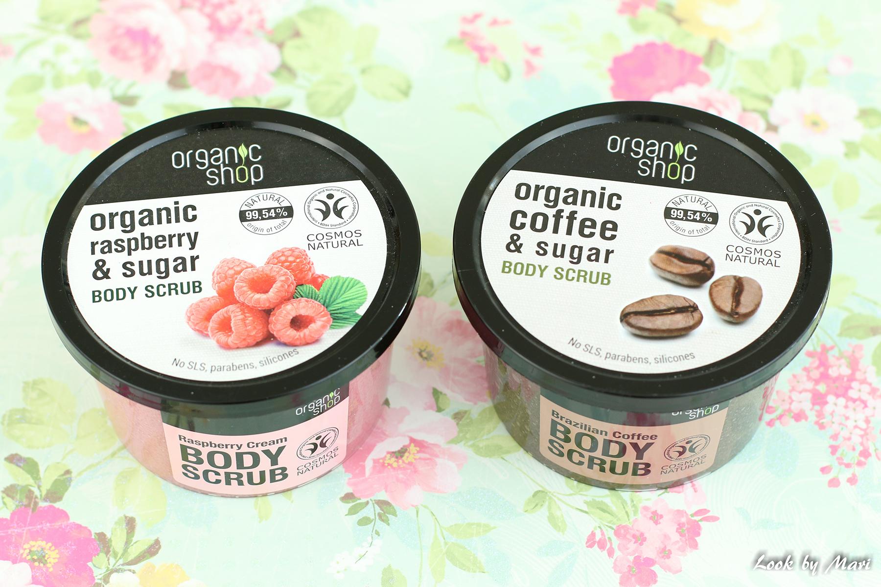 8 oganic shop body scrub kokemuksia coffee & sugar review raspberry & sugar sokos hinta tuoksu